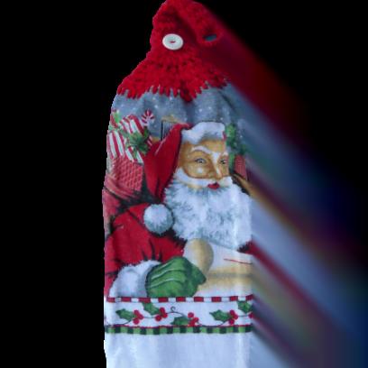 Père Noël serviette à mains
