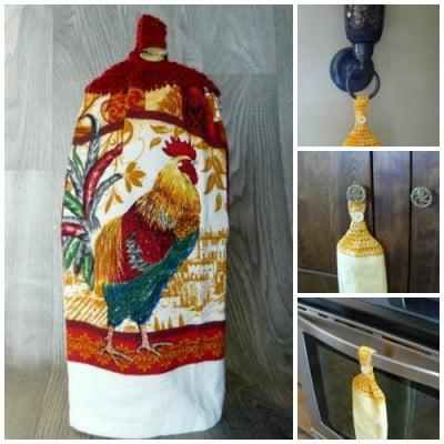 Serviette-main-rouge-coq-poule-savon-artisanal-majeste-tricot-crochet-suspendu-accrocher-400x400