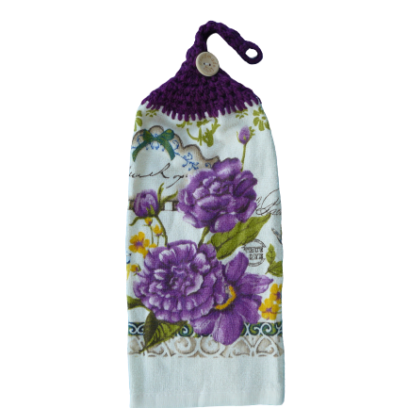 Fleurs Chrysanthème Serviette à mains
