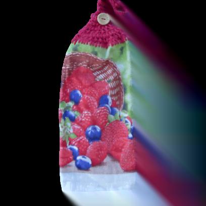 Petits fruits serviette à mains