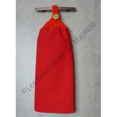 serviette-polyester-rouge-main-savon-majeste-fait-main-tricoter-crochet-400x400