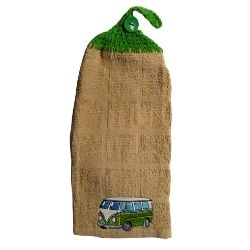 serviette à mains camper vert